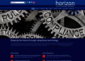 horizon.ac.uk