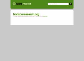 horizonresearch.org