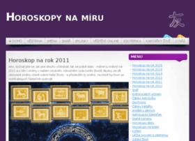 horoskop-na-rok-2011.horoskopnamiru.cz