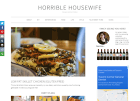 horriblehousewife.com