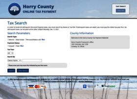 horrycountytreasurer.qpaybill.com