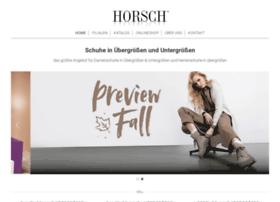horsch-schuhe.de