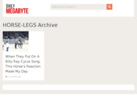 horse-legs.dailymegabyte.com