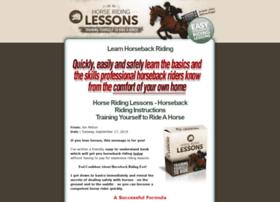 Horse-ridinglessons.com