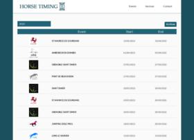 horse-timing.com