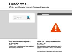 horsebetting.com.au