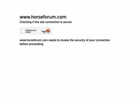 horseforum.com