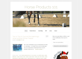 horseproducts101.wordpress.com