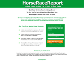 horseracereport.co.uk
