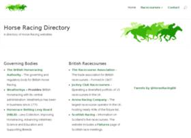 horseracingdirectory.com
