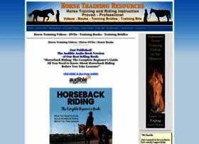 horsetrainingresources.com