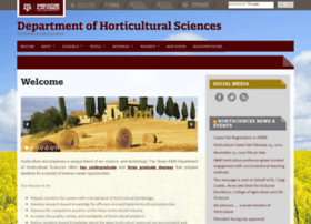hortsciences.tamu.edu