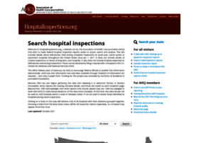 hospitalinspections.org