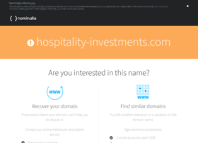 hospitality-investments.com