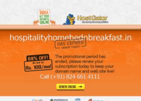 hospitalityhomebednbreakfast.in