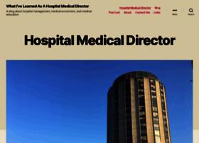 hospitalmedicaldirector.com