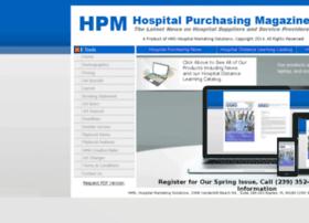 hospitalpurchasingmagazine.com