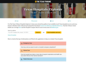 hospitals.texastribune.org