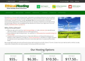 Host.ethicalhost.ca