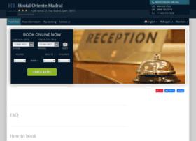 hostal-oriente-madrid.h-rez.com