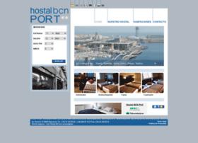 hostalbcnport.com