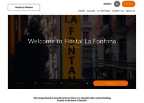 hostallafontana.com