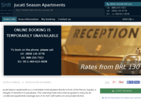 Jucati season apartments rio de janeiro rates from brl130
