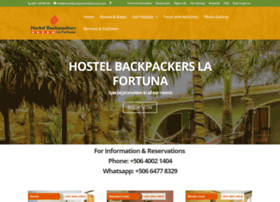 hostelbackpackerslafortuna.com