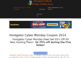 hostgatorblackfridaycoupon.com