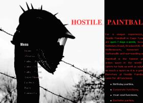 hostile-paintball.com