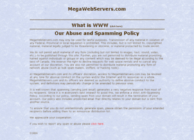 hosting.megawebservers.com