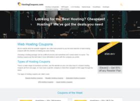 hostingcoupons.com