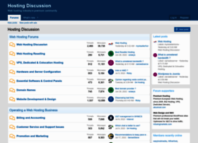 hostingdiscussion.com
