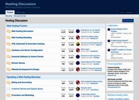 hostingdiscussion.com