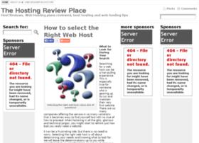 hostingreviewplace.com