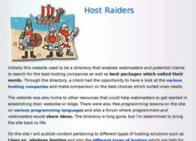 hostraiders.com