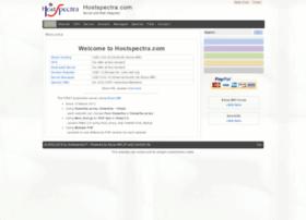 hostspectra.com