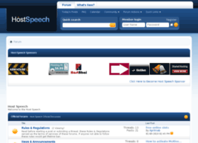 hostspeech.com