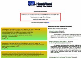 hostwoot.com
