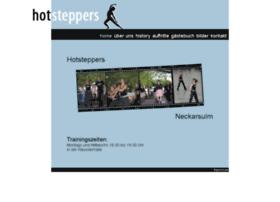 hot-steppers.de