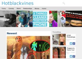 hotblackvines.com
