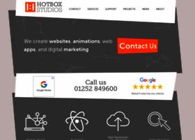 hotboxstudios.co.uk