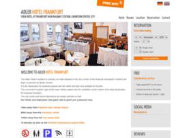hotel-adler-frankfurt.com