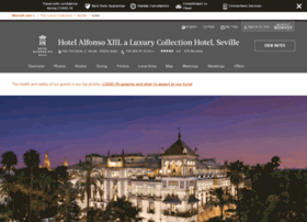hotel-alfonsoxiii-seville.com