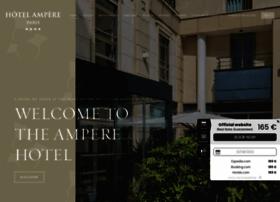 hotel-ampere-paris.com