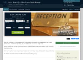 hotel-aux-trois-roses.h-rez.com