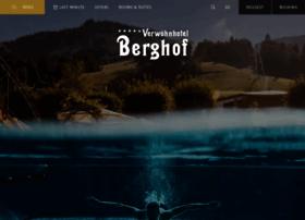 hotel-berghof.com
