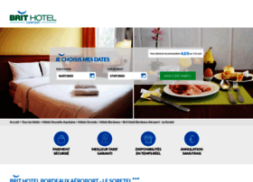 hotel-bordeaux-aeroport.brithotel.fr