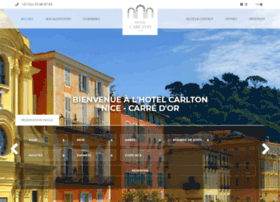 hotel-carlton-nice.com