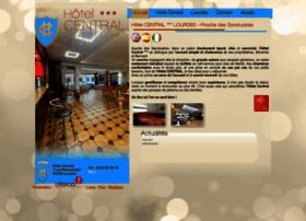 hotel-central-lourdes.com